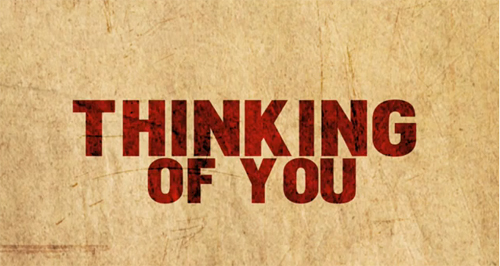 Lyric Video Thinking of You by Kane
