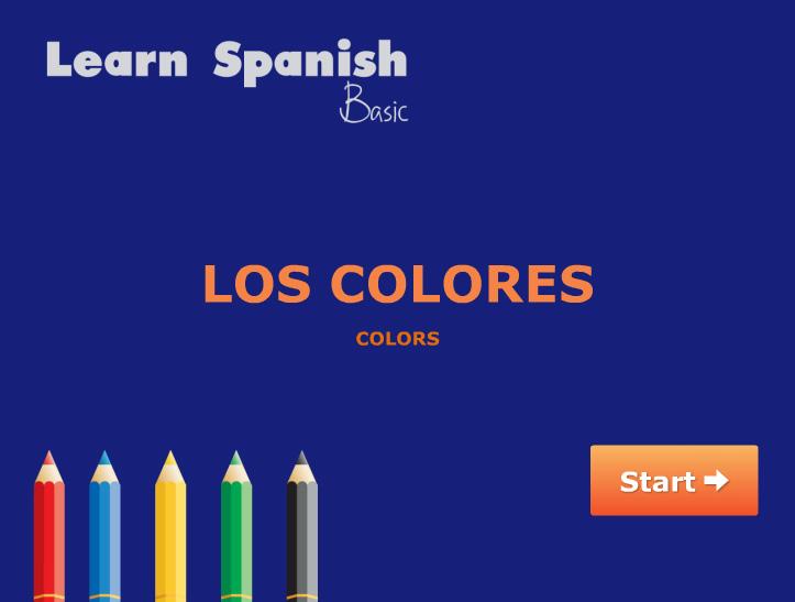 Los Colores - colors